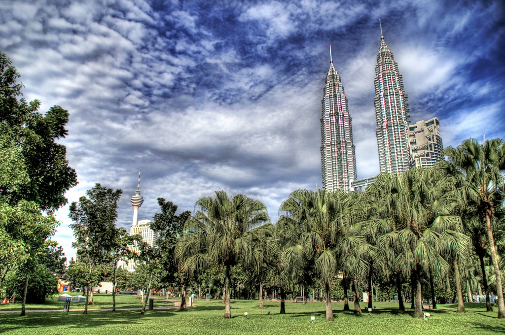 Towers in the Park