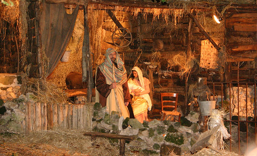 Living Christmas Nativity Scene - 041F