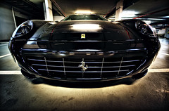 Sleeping Beast (Vincnt) Tags: sleeping beauty car sony garage ferrari beast alpha hdr 612 scaglietti vincentvega sigma1020mm goingwiththeflow