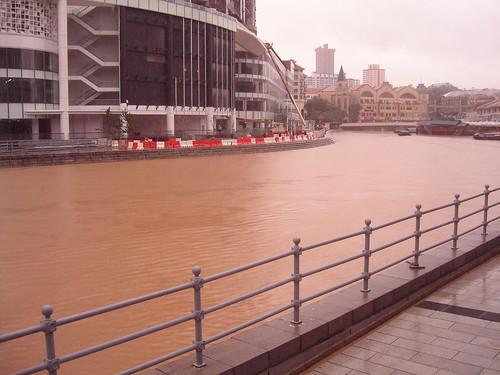 The river runneth over