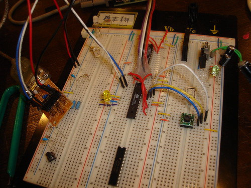 KXM52-1050 Accelerometer & ATmega168