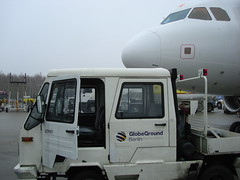 Airport vehicle (individual8) Tags: berlin germany airport december 2006 airbus vehicle a319 schnefeld dopplr:explore=45p1