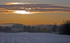 Frozen fields (Krogen) Tags: nature norway landscape norge natur norwegen olympus c7070 noruega scandinavia akershus romerike krogen landskap noorwegen noreg ullensaker skandinavia hovin