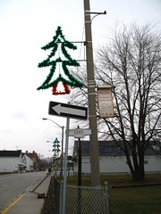 Amherstburg Holiday Light Posts
