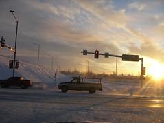 sun dog (lowflyingcloud) Tags: weather alaska sundog