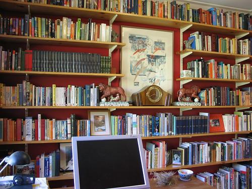 study bookshelves