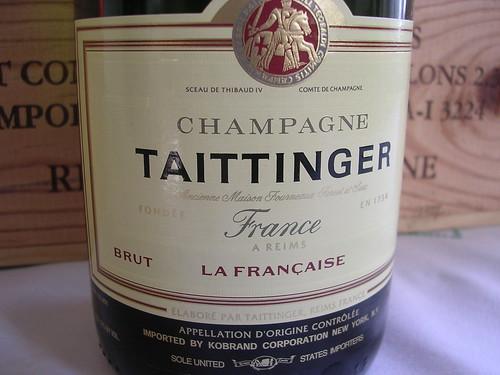 Taittinger Brut Champagne La Francaise NV