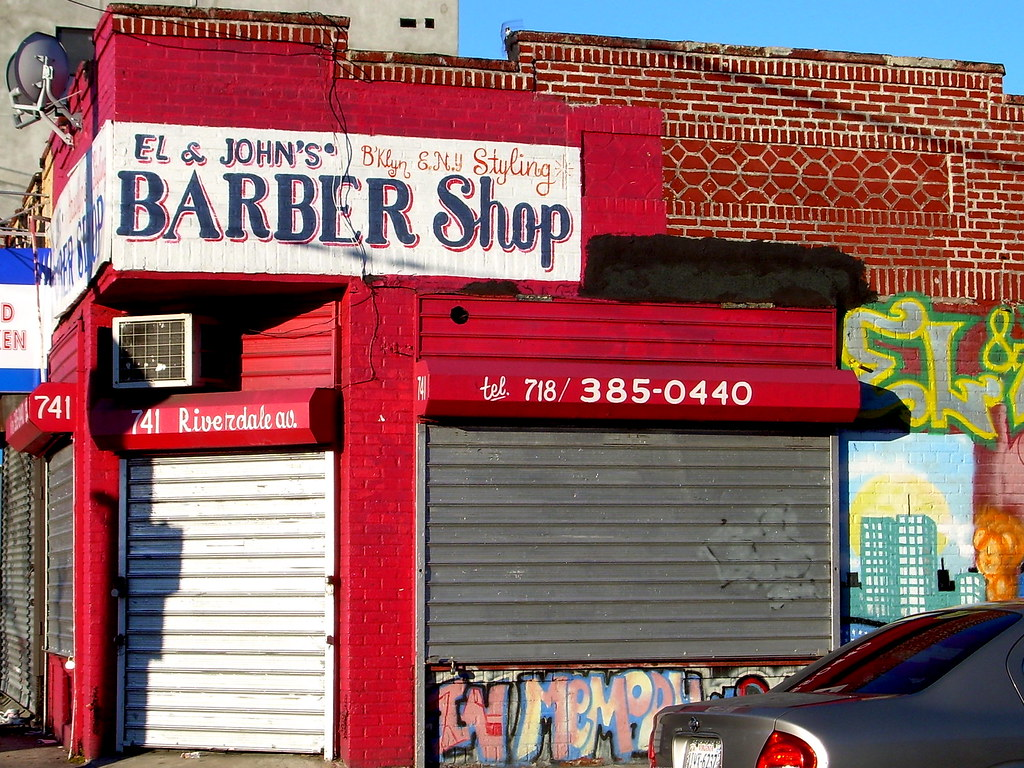 barber shop, east new york