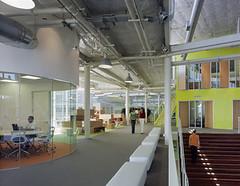 Het hoofdkantoor van Google