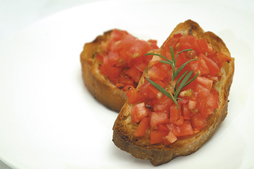 Amatriciana Bruschetta