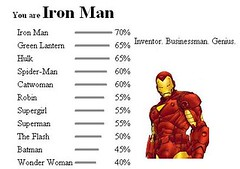 Ironman where did that come from!