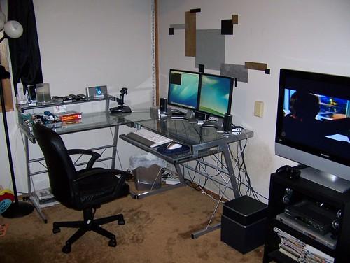My Mac + PC Setup