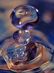 Falling drops (!.Keesssss.!) Tags: motion reflection water netherlands vertical photography nopeople drop falling simplicity extremecloseup rippled freshness gettyimages selectivefocus splashing royaltyfree theflickrcollection keessmans 0021ksgetty