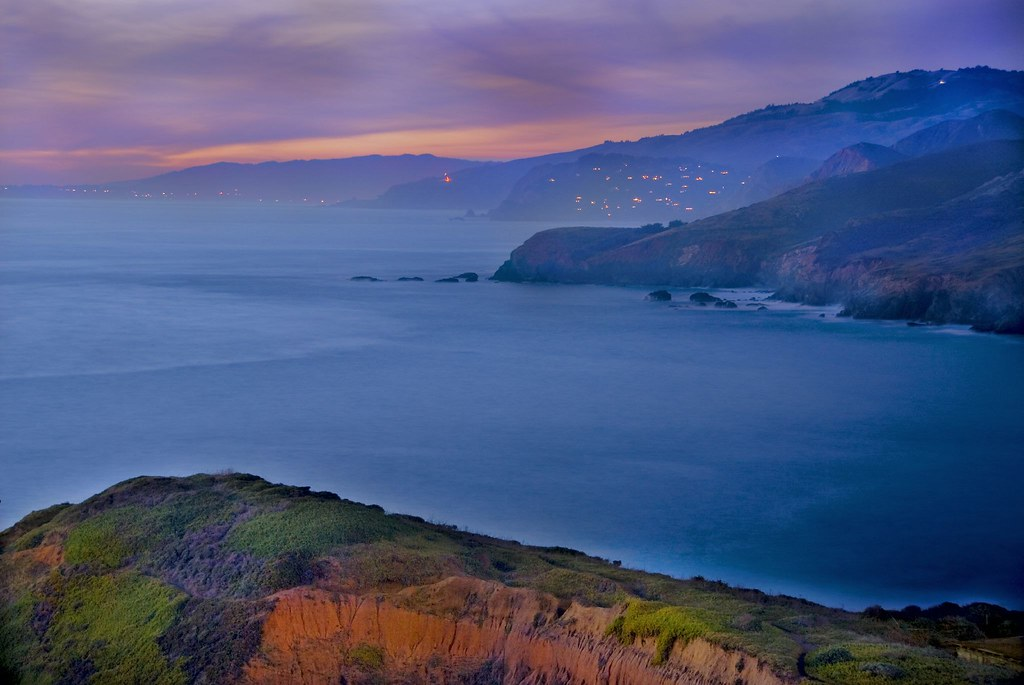 Marin Headlands at Dusk