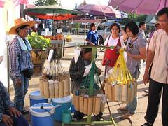 fresh palm juice shop THAILAND