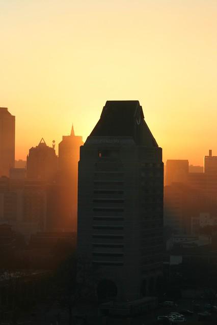 sunrise ZANU-PF Building Harare Zimbabwe by ascendent