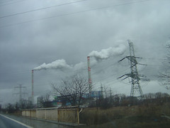 Coal power plant near Chomutov