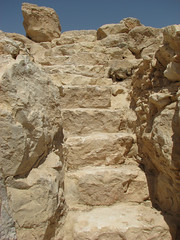 primitive way (Dana Levi) Tags: scale rock stairs israel desert steps pebbles stairway pebble staircase scala negev roccia sassi deserto israele sasso neghev nguev