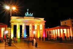 Brandenburg Gate ([martin]) Tags: lighting light berlin festival night geotagged nightshot martin illumination brandenburggate festivaloflights pariserplatz geo:lon=13378236 geo:lat=52516267 martinbiskoping
