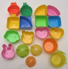 Reusable plastic food cups