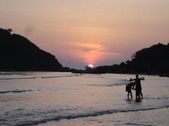 Palolem Beach sunset4