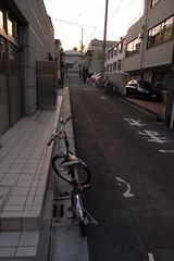 前輪が大きい自転車