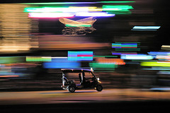 Acid Tuk Tuk (J Catlett) Tags: nightphotography color colors night asian thailand lights nikon asia seasia southeastasia neon noflash cm tuktuk chiangmai pan d100 nikkor panning indochina slowshutterspeed panningshot seasian earthasia