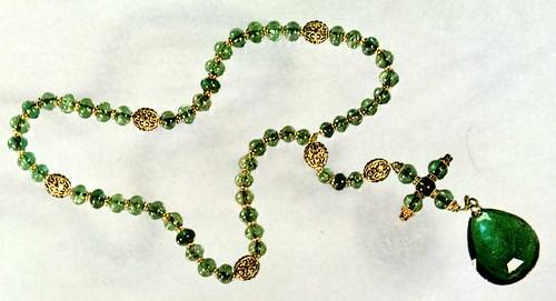 Emerald rosary, ca. 1600