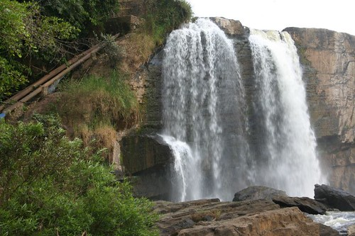 Gangah Waterfall, near Dalat, Vietnam