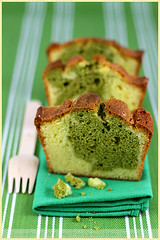 White Chocolate and Matcha Tea Marbled Cake (La tartine gourmande) Tags: white cake dessert baking tea sweet chocolate marbled matcha