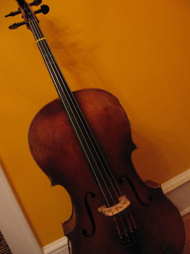 Cello on Orange