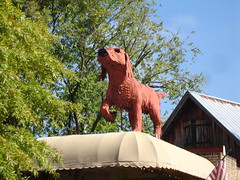 Big Red Dog by Steve Davis, Northport AL