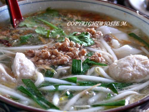 Meat Ball rice noodles