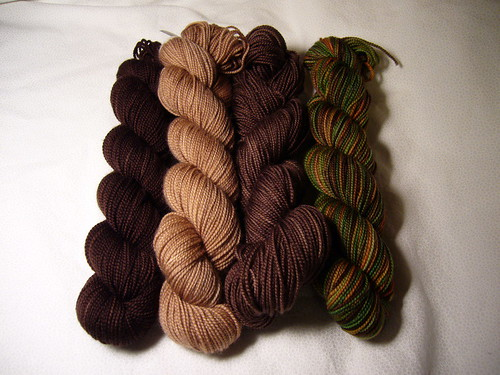 Brown Koigu