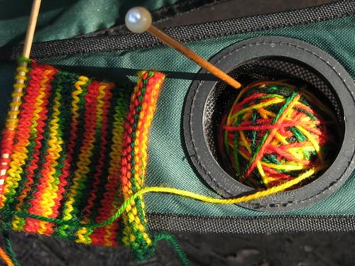 Camp knittin 2