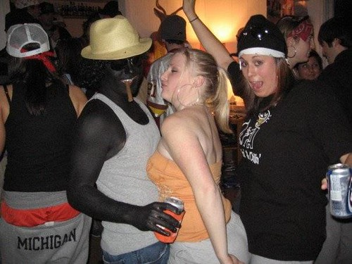 clemson university blackface ghetto gangsta party