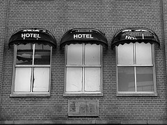 amsterdam (wojofoto) Tags: amsterdam bw blackandwhite hotel ojp valkenburgerstraat stadsarchief wojofoto wolfgangjosten