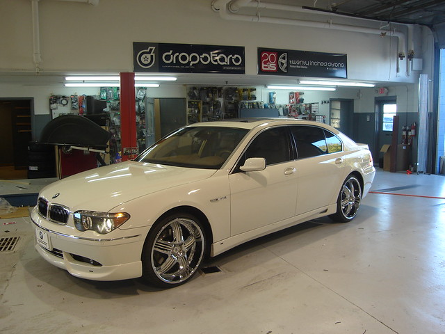 with bmw 760 22s