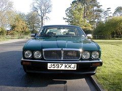 P1010021 (saabfan) Tags: park green sport racing eastbourne british 1991 jaguar hampden xj xj6 6cyl xj40 6cylinder 200hp 200bhp