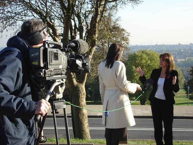 Interviewed by BBC on campaign to save Ally Pally TV studios