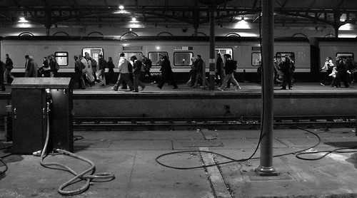 blackand white commuters