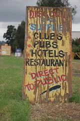 Old Sign (justin k) Tags: sign weathered homebushbay