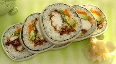 Soft shell crab sushi roll (Swamibu) Tags: london sushi japanese restaurant soft great shell crab delicious roll ubon