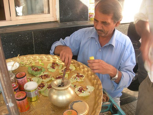 Magai paan preparation