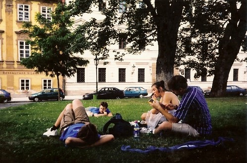 Picnic in Prague, Czech Republic