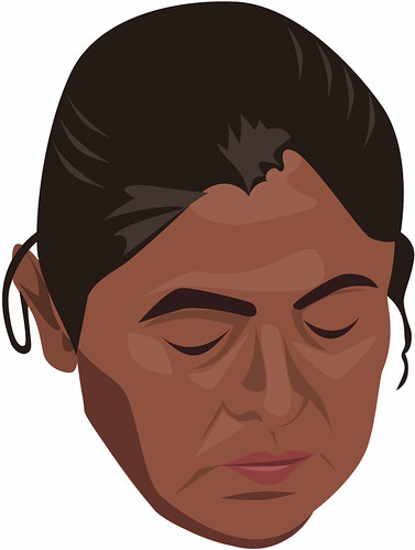 Mexican Woman Illustration