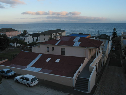View of False Bay from inn