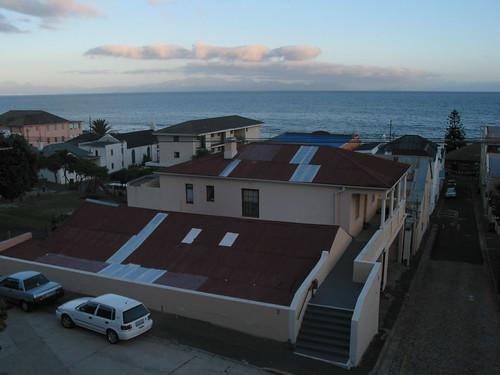 View of False Bay from inn