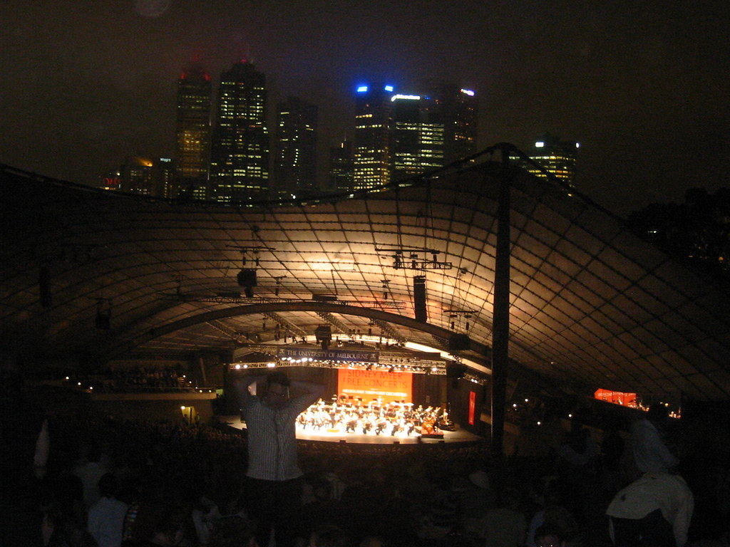 Concert With Skyline