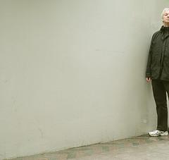 half a me (cooliceblue) Tags: selfportrait london walk utatainhalf